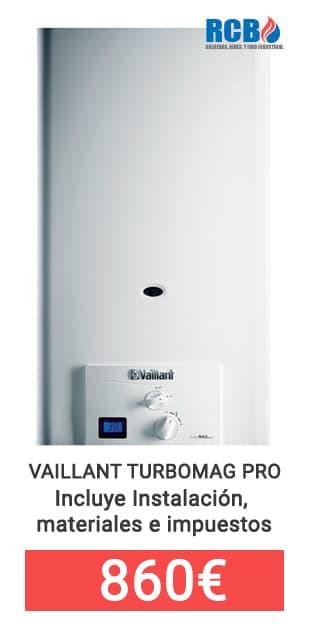 Calentador Vaillant Turbo Mag Pro